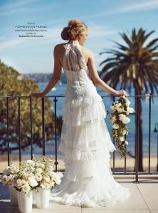 White Styling Photoshoot, Modern Wedding Magazine